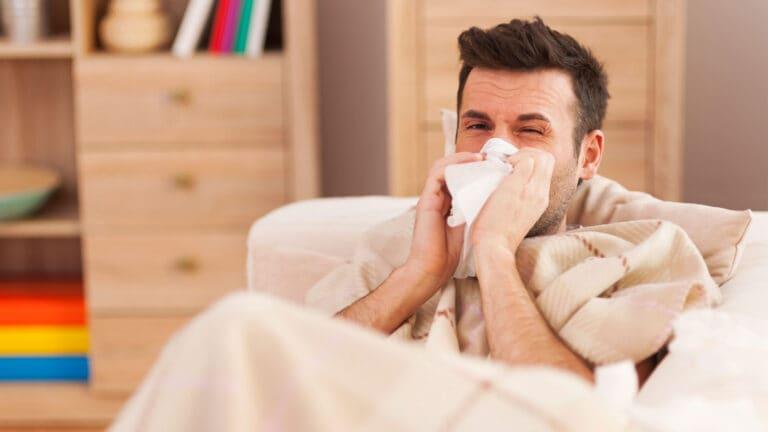 sypialnia alergika