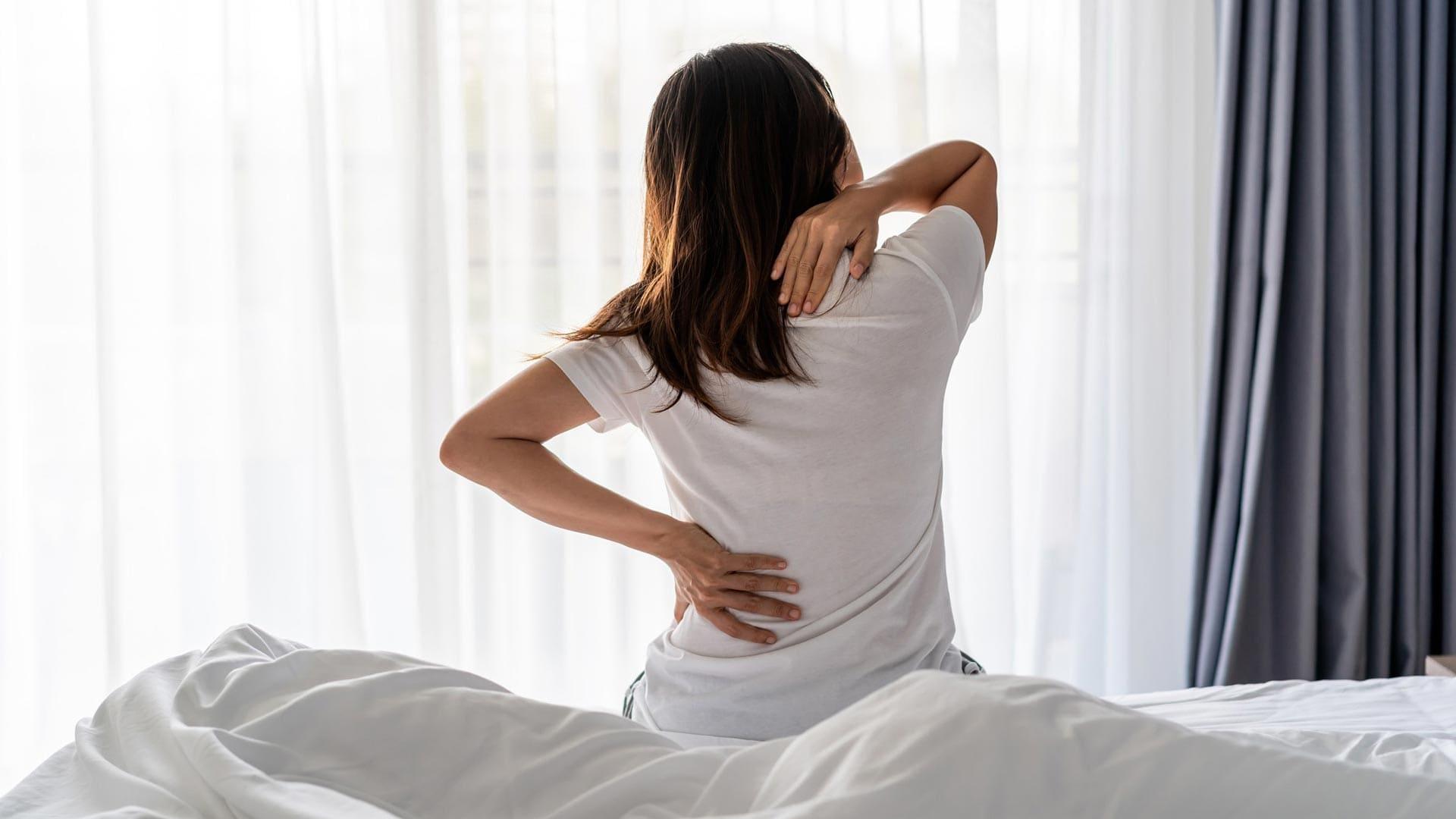 ból pleców po nocy